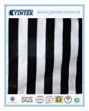 Stripe Extra-Black White Poly Cotton Fabric
