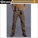 Tan Quick-Drying Combat Multi-Pockets Tactical Outdoor Trousers with 14 Pockets