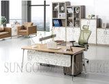 Cheap Modern Office Desk Stainless Feet Desk (SZ-ODA1008)