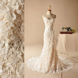 Mermaid Bridal Gowns Strapless Venice Lace Wedding Dresses Z2061