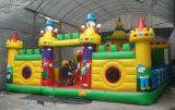 Hot Sell Gaint Inflatable Cartoon Castle for Theme Park