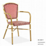 Aluminum Wicker Bamboo Dining Chair (BC-08011)