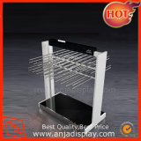 Stainless Steel Display Stand for Clothes Shop