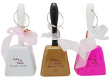 Wedding, Sports Square Shape Metal Cow Bell Gifts for Promo