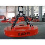 Oval Type Crane Lifting Electromagnet for Scraps