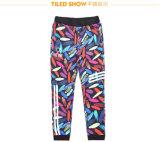 P11132 Fashion Size 38-48 Men Colored Slim Sport Pants