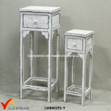 Four Legs Wooden Antique Decorative Stools