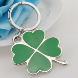 Promotion Gifts Custom Metal Four Leaf Clover Keychain
