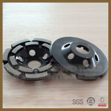 Diamond Segment Double Row Grinding Cup Wheels for Granite