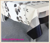 PVC Printed Tablecloth with Nonwoven Backing (TJ0001A/B/C/D)