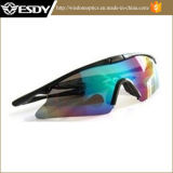 Outdoor UV400 Protection Police Shooting Glasses Multicolor