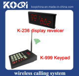 Wireless Call Pager System for Restaurant with K-999+K-236