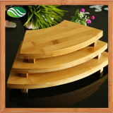 Fan Shaped Bamboo Sushi Board
