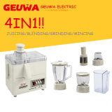 4in1 300W Household Food Processor with Blender Juicer Grinder (KD-380AS)