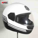 Police Full Face Anti-Riot Helmet for Bikers MTK-C-M-WW02