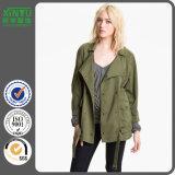 2016 Cotton Washed Fashion Women Army Jacket