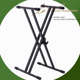 Heavy-Duty Double X Keyboard Stand Ks-10