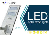 Outdoor Light Integrated LED Solar Street Lamp with Lithium Battery