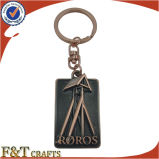 Wholesale Promotional Gifts 3D Relief Antique Die Cast Metal Keychain (FTKC1727A)
