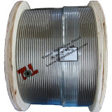 1.4301 304 1X19 Stainless Wire Rope 8mm