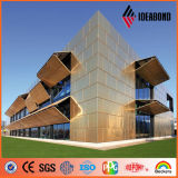 Exterior Cladding Wall Decoration Copper Composite Panel