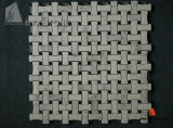 China Star White Marble Mosaic with Light Veins for Decoration