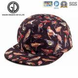 New Design Colorful Bird Sublimation Printing Basketball Snapback Cap