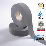 Grey Polyester Reflective Tape for Safety Vest (1102)
