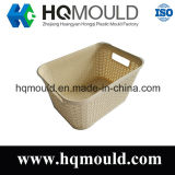 Customized Modern Design Plastic Rattan Injection Mould for Storage