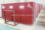 Popular Red Crystal Artificial Quartz Stone Slab