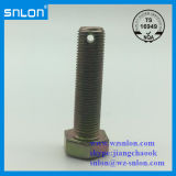 DIN933 Hex Bolt Screw with Hole Full Thread