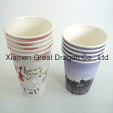 1.5-32 Ounce Hot Beverage Paper Cups and Lids (PC1111)