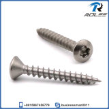 304/316/410 Stainless Steel Oval Head Torx Self Tapping Wood Screw