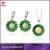 Luxury Fashion Design Pendant and Earrings Jewelry Sets