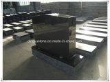 Shanxi Black Serp Top American Gravestone Monument Tombstone in Cemetery