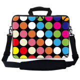 Colorful Waterproof Light Printed Neoprene Laptop Bag