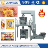 Multi Head Weigher Full Automatic Pillow Packing Machine for Donuts