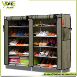 Hot Sale Large Fabric Cover Portable Shoe Storage Rack