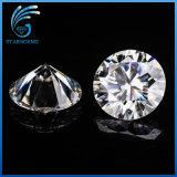 2.0 Carats Lab Grown Moissanite Diamond in Round Brilliant Cut