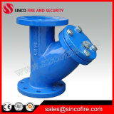 Cast Iron Body Pn16 Flanged End Y Strainer
