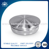 Stainless Steel Curved Round End Cap for Railing