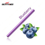 Red Tipped LED Light Disposable E-Cigarette *Blueberry* Flavour