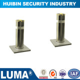 304 Stainless Steel Automatic Hydraulic Rising Bollards with Flashing LED Light