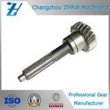 Custom Precision Steel Gear Driving Spline Gear Shaft