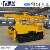 Hf200y Hydraulic Crawler DTH and Rotary Water Well Drilling Rig