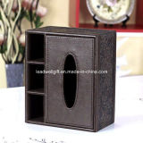 Tissue Box Holder with 3 Compartments Holder for Pen Pecnil Remote Control Phone