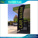 Car Wash Feather Flag with Fiberglass Pole (J-NF04F06099)
