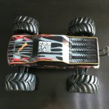 4WD 1: 10 Scale Black Body Brushless RC Monster Truck