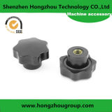 Five-Star Black Thread Metal Clamping Knob with High Quality