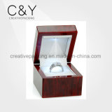 Wholesale Cute Wooden Ring Case Box